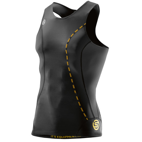DNAmic Compression Sleeveless Shirt // Black