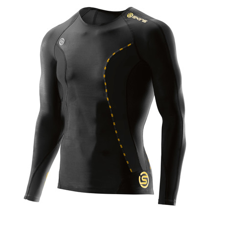 DNAmic Compression Long-Sleeve Shirt // Black