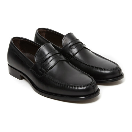 Penny Loafer // Black