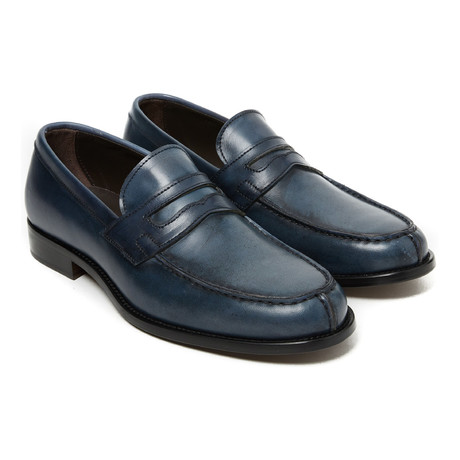 Classic Penny Loafer // Navy