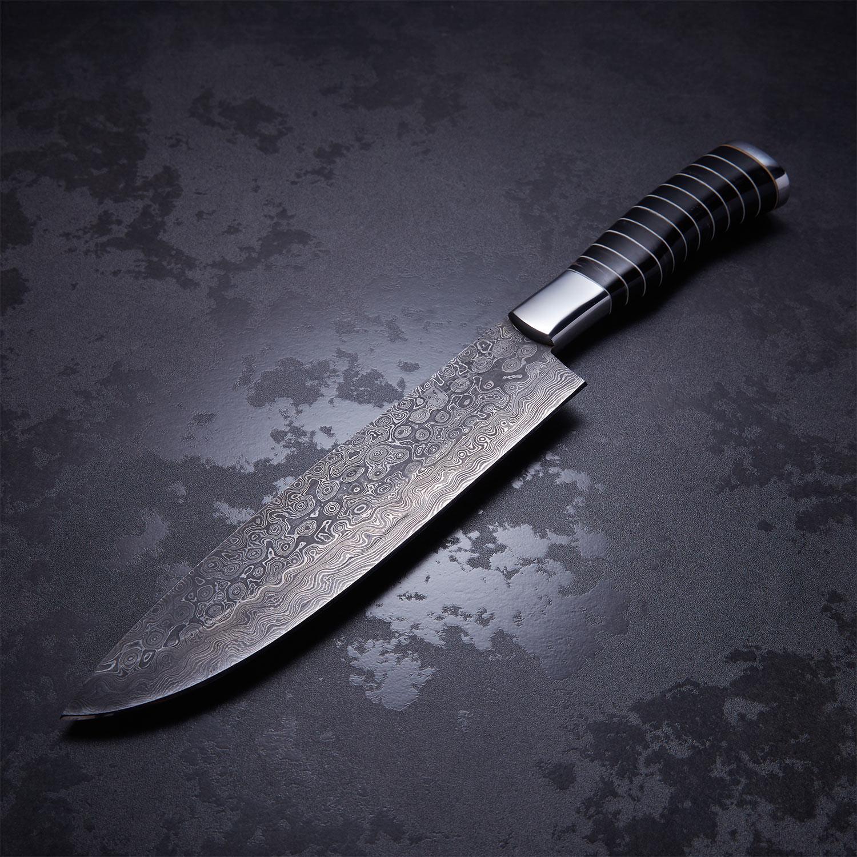 Buffalo Horn Large French Chef Knife