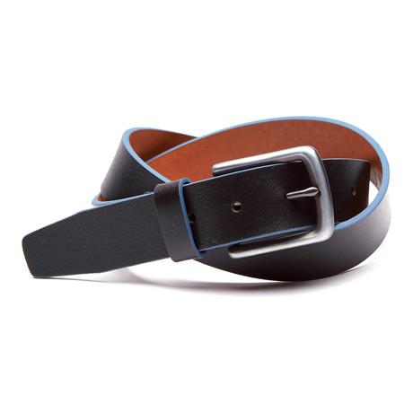 Tull Genuine Leather Casual Belt // Black (32)