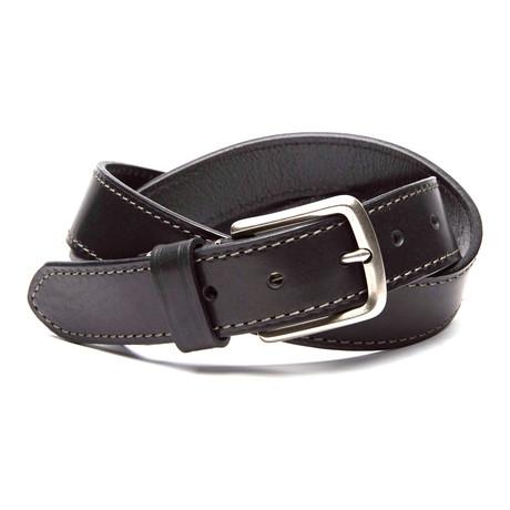 Bryant Casual Dress Belt // Black