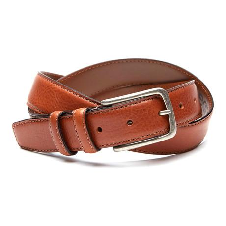 Eric Casual Belt // Cognac