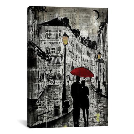 """Rainy Promenade (18""""W x 26""""H x 0.75""""D)"""