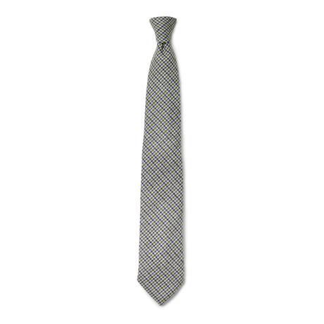 Chadwick Tie // Green + Blue + Grey