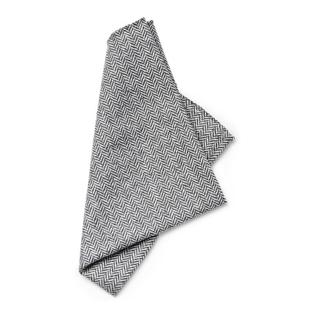 Faraday Pocket Square // Grey