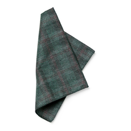 Marcet Pocket Square // Green