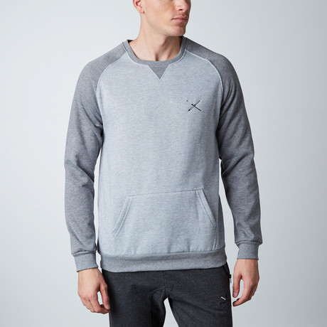 Kangaroo Sweatshirt // Light Grey