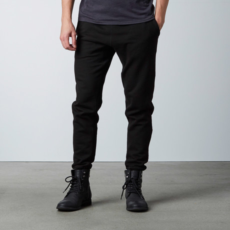 Simply Butter Jogger // Black (S)