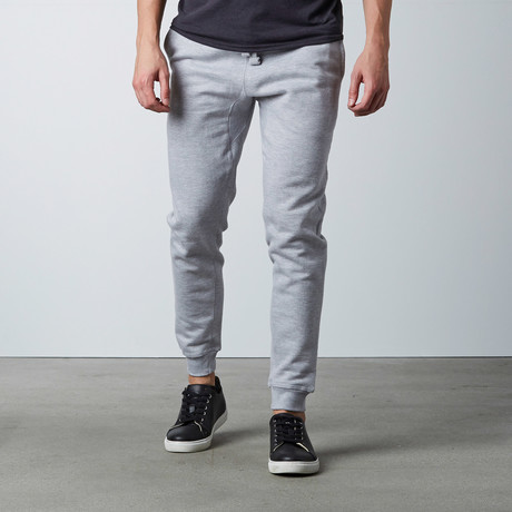 Simply Butter Jogger // Heather Grey (S)