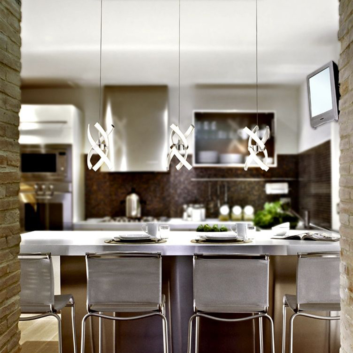 3 Light Kitchen Island Pendant Austin 3 Light Kitchen Island Pendant Contempo Lights Touch Of