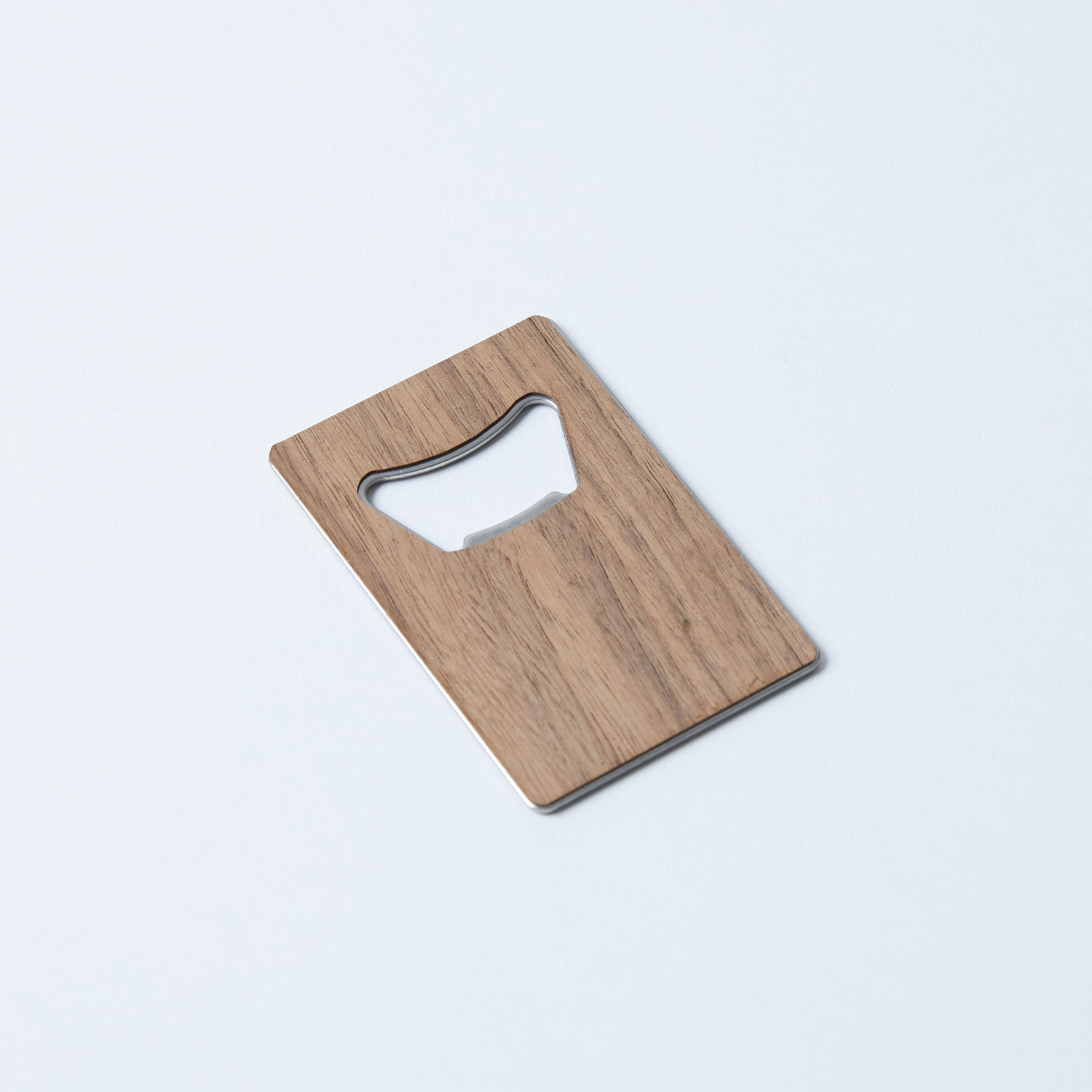 Credit card bottle opener cedar woodchuck usa touch Cedar credit