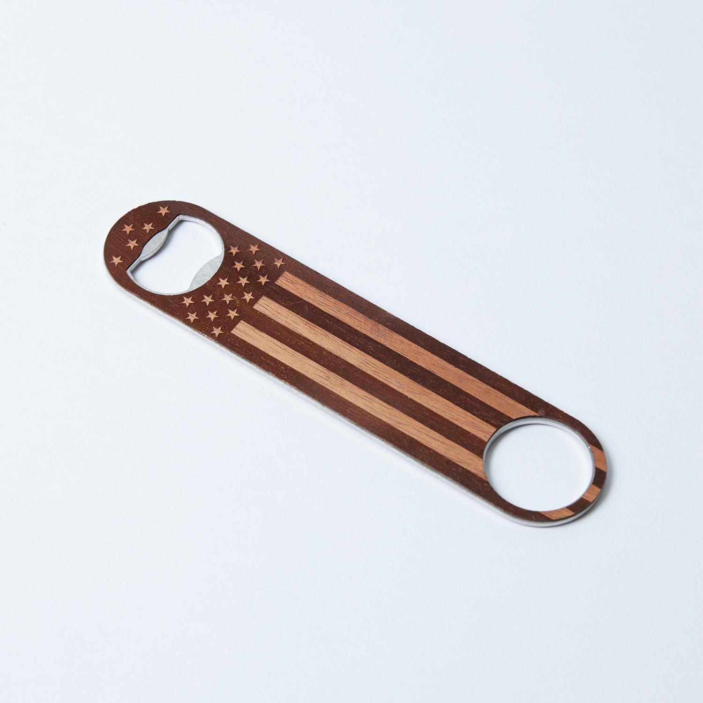 Bottle opener cedar woodchuck usa touch of modern for Woodchuck usa
