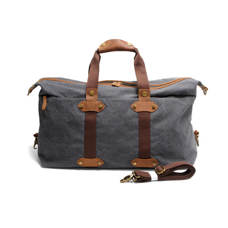 No. 727 Canvas Weekender (Army Green)