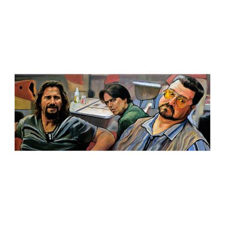 "Jesus Taunts Walter (24""W x 10""H)"