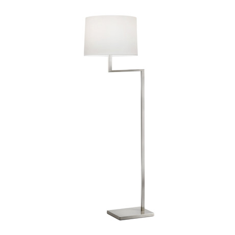 Thick Thin Floor Lamp (Satin Nickel Finish)