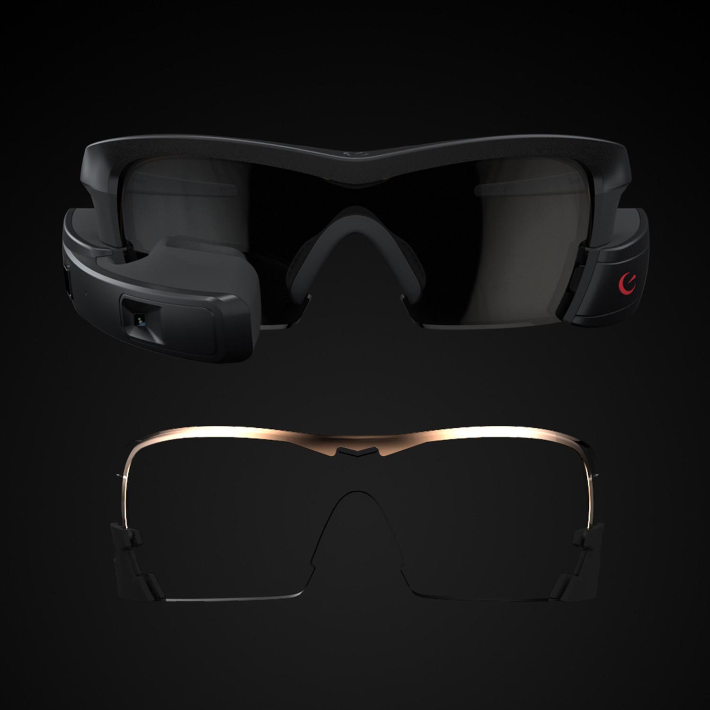 Recon Jet Sunglasses Black Frame and Lens Bundle BRAND NEW