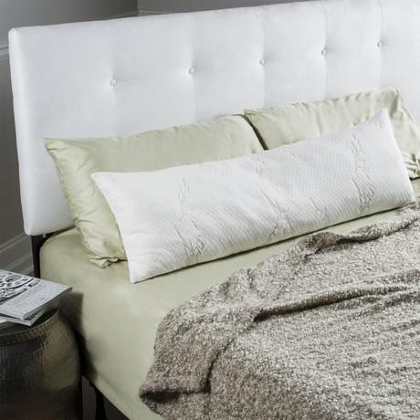 Memory Foam Body Pillow // Bamboo Cover