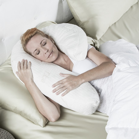 Uno Memory Foam Pillow + Bamboo Cover