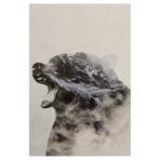 "Bear In The Fog // Andreas Lie (18""W x 26""H x 0.75""D)"