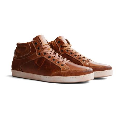 Leicester Leather Shoe // Cognac (Euro: 45)