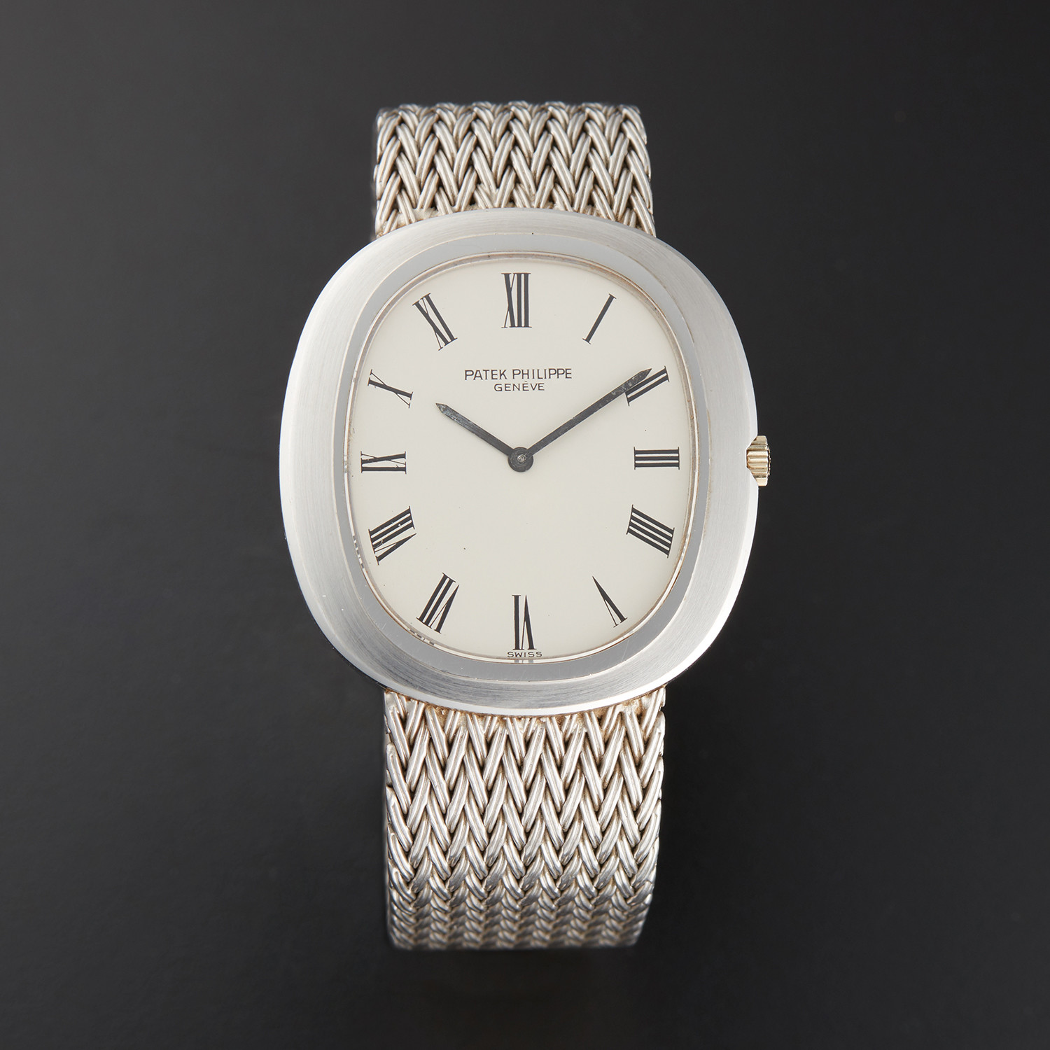 Patek Philippe Oval Automatic // 3589-1 // Pre-Owned