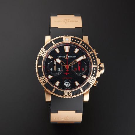 Ulysse Nardin Maxi Marine Diver Chronograph Automatic // 8006-102-3A/926 // Unworn