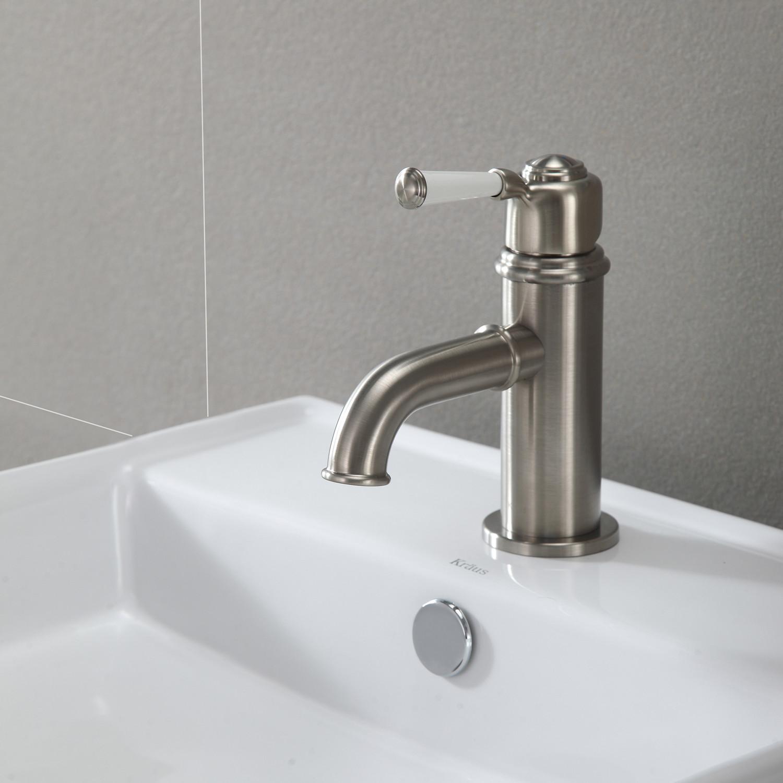 Solinder Single Hole Single Handle Bathroom Faucet Oil