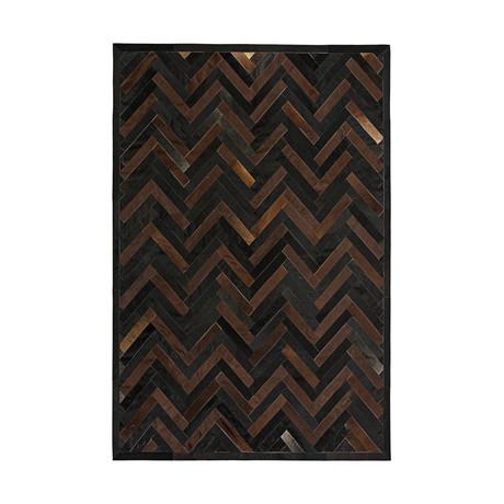 Chevron Rug Plus // Cassiterite (5'L x 8'W)