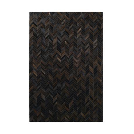 Chevron Rug // Cassiterite (5'L x 8'W)