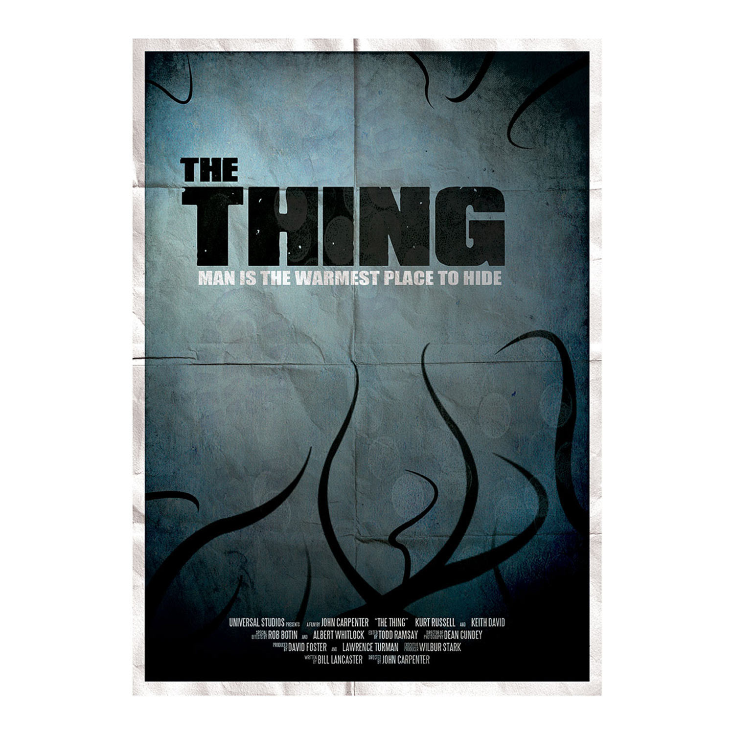 Poster design john foster - The Thing