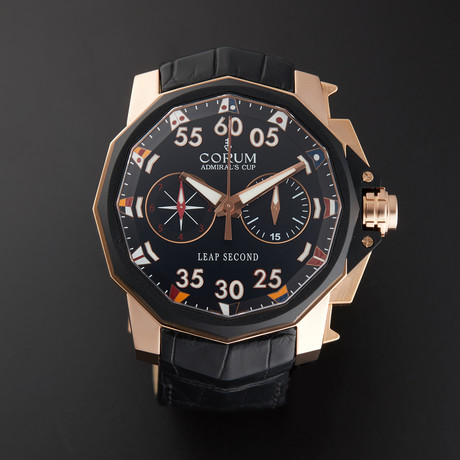 Corum Admirals Cup Leap Second 48 Automatic // 895.931.91/0001 AN42 // Store Display