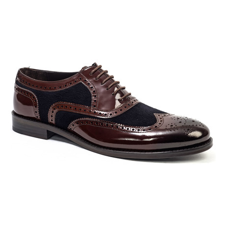 Wing-Tip Oxford // Brown (Euro: 40)