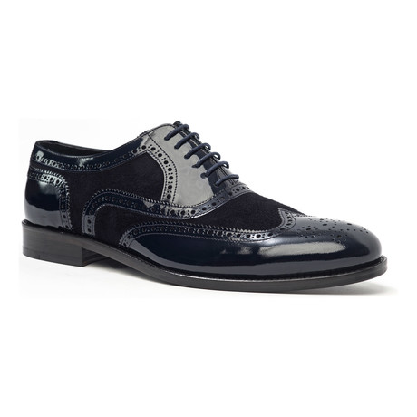 Wing-Tip Oxford // Navy (Euro: 40)