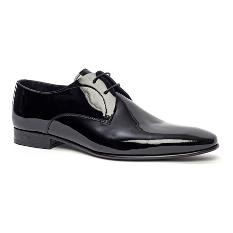 Classic Polished Derby // Black (Euro: 40)