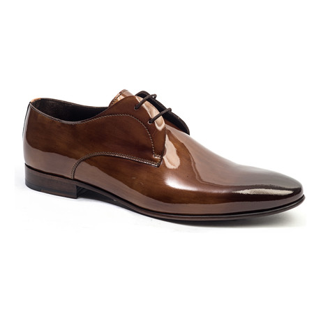 Classic Polished Derby // Brown