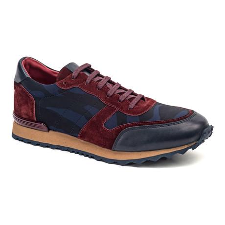 Casual Running Style Sneaker // Burgundy