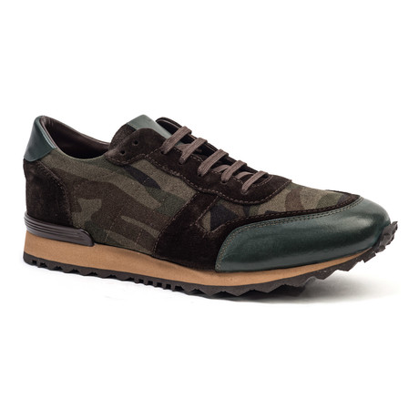 Casual Running Style Sneaker // Brown