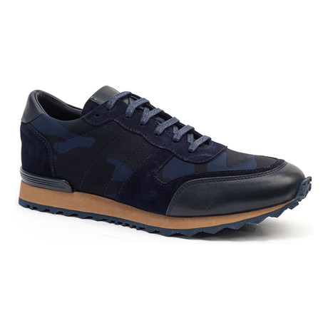 Casual Running Style Sneaker // Navy