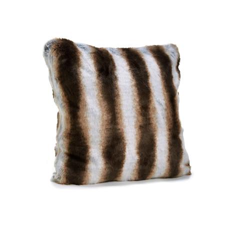 Limited Edition Faux Fur Pillow // Chinchilla