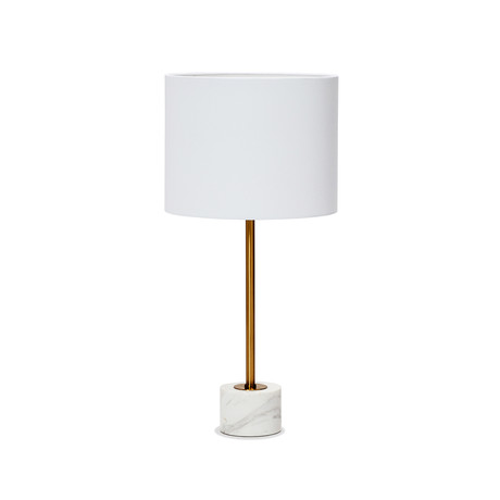Beck Table Lamp (Nero Storm)