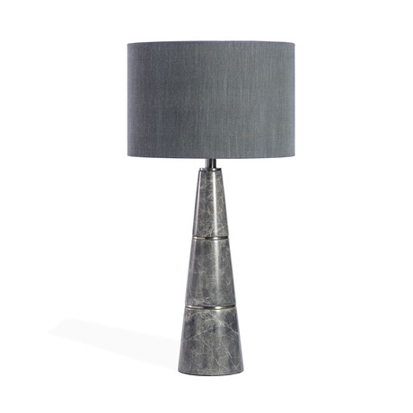 Dex Lamp (Grey + Nickel)