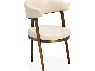Photo of Interlude Home Exceptional Furniture Adele Dining Chair // Set of 2 (Cream) by Touch Of Modern