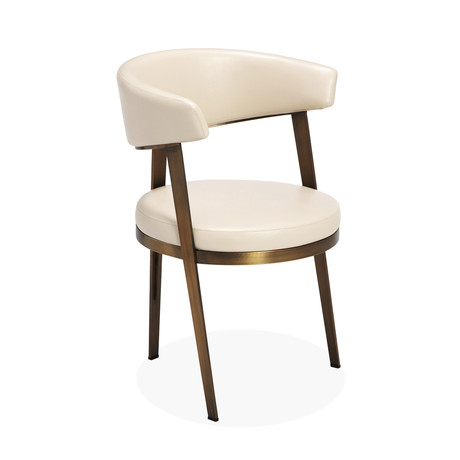Adele Dining Chair // Set of 2 (Cream)