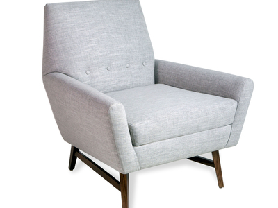 INOpets.com Anything for Pets Parents & Their Pets Interlude Home Exceptional Furniture Jonathan Chair (Cement)