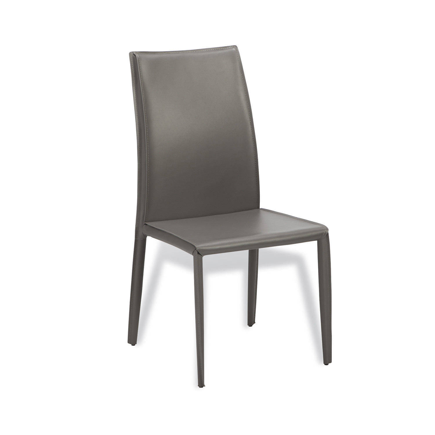 Jada high back dining chair taupe
