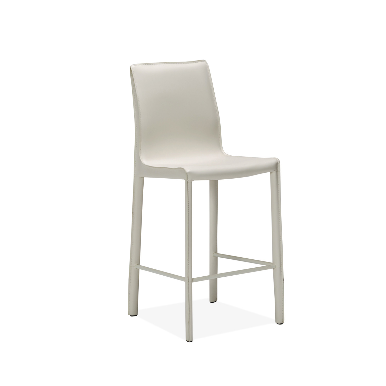 Jada Counter Stool White Interlude Home Touch Of Modern
