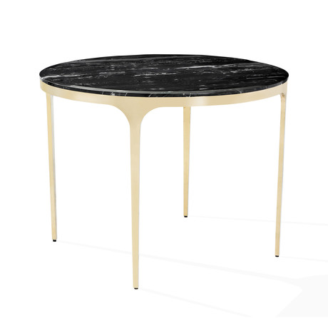 Camilla Center Dining Table (Arabescato)