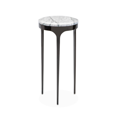 Camilla Drink Table (Grey + Gunmetal)